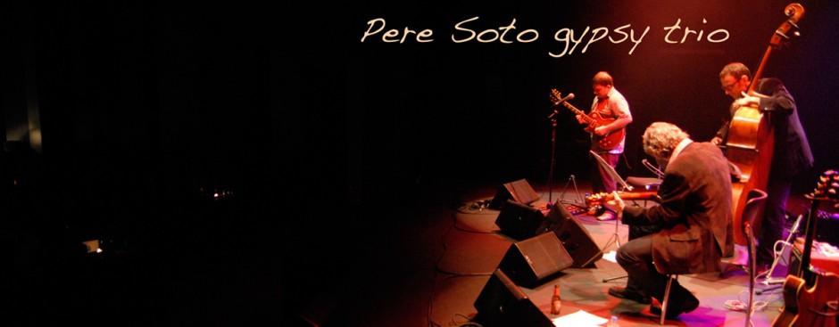 Pere Soto gypsy trio